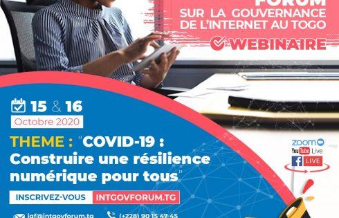 Togo: le forum national sur la gouvernance internet, c'est du 15 au 16 octobre