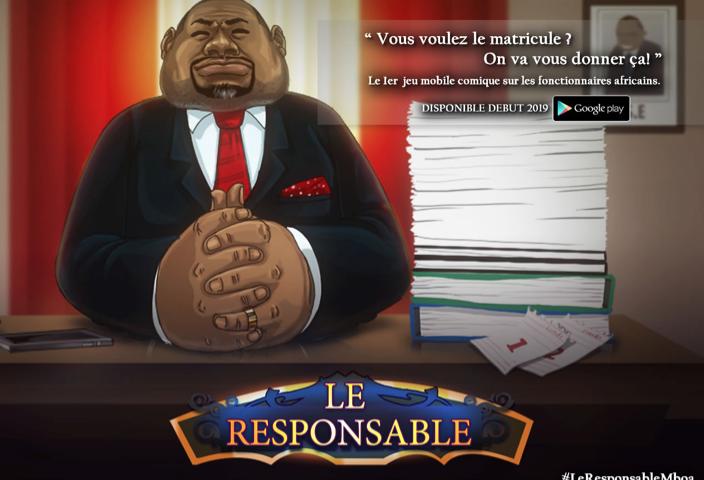 Kiro'o Games présente enfin son jeu vidéo «Le responsable»