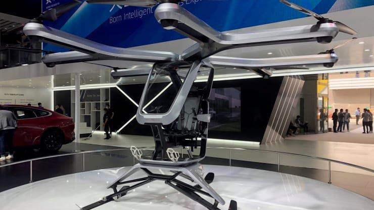 Chine: Le constructeur Xpeng motors annonce la sortie d'un véhicule volant