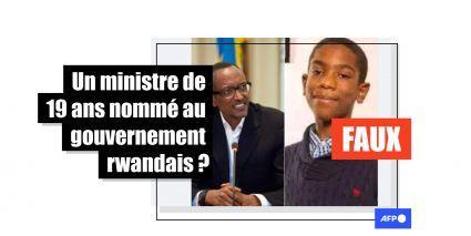 Rwanda : Patrick Nkuriza (19 ans) est-il réellement ministre des Nouvelles technologies?