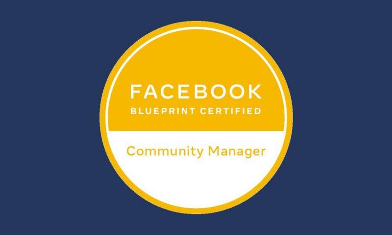 Facebook : nouvelle certification pour les community managers