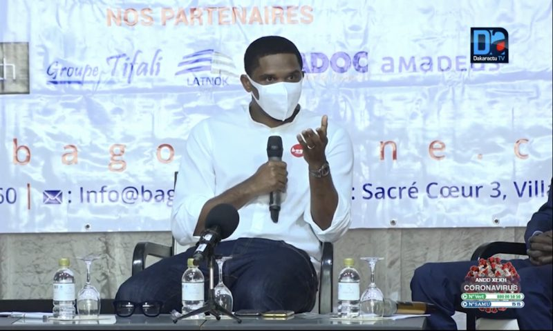 Samuel Eto'o lance sa startup Bag'Ô au Sénegal