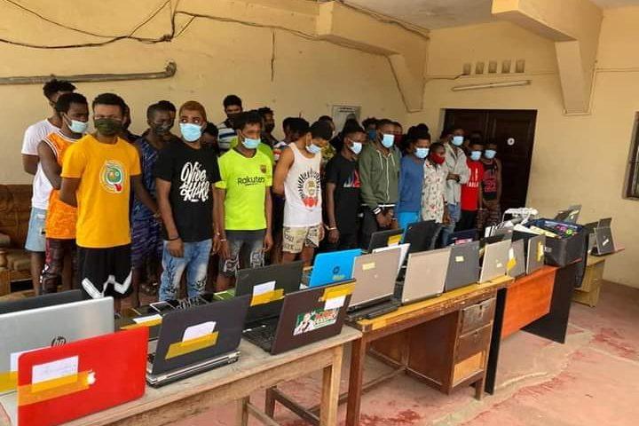 Togo : 38 cybercriminels nigérians arrêtés