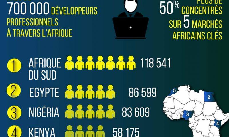 L'Afrique compte près de 700 000 développeurs (étude)