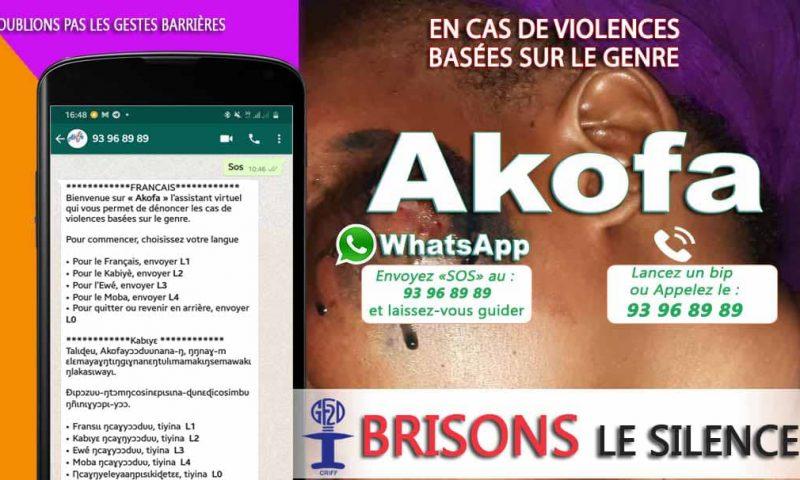 Togo: «Akofa», un chatbot pour dénoncer les violences basées sur le genre
