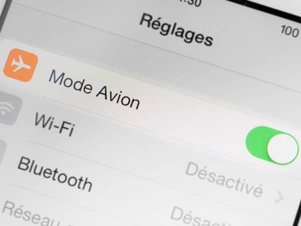 Smartphone : les avantages du mode Avion