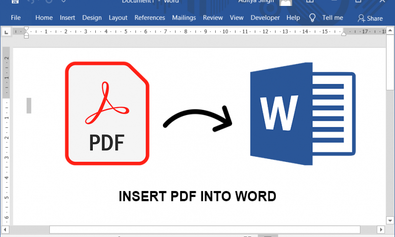 Top 3 des outils permettant de convertir un document PDF en Word