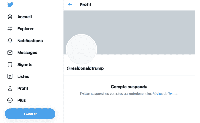 USA: Twitter bannit définitivement Donald Trump